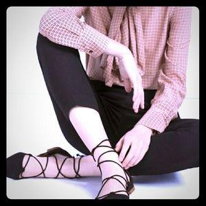 ❣️ Zara Lace Up Flats